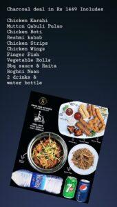 Charcoal BBQ N Grill Complete Menu