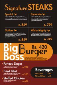 Godfather Burger Menu Prices 2