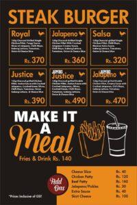 Godfather Burger Menu Prices 4