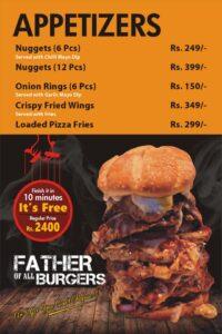Godfather Burger Menu Prices 5