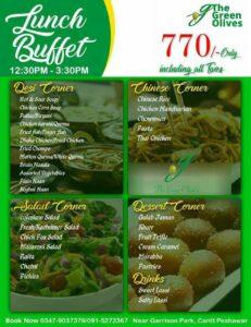 Green Olives Restaurant Lunch Buffet