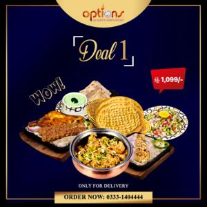 Options Restaurant Barkat Market Deals