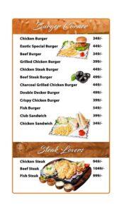 Options Restaurant Barkat Market Menu 10