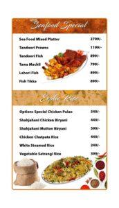 Options Restaurant Barkat Market Menu 6