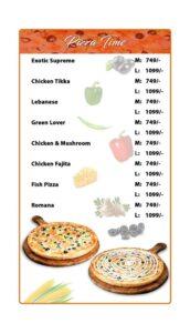 Options Restaurant Barkat Market Menu 9