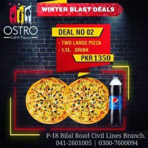Ostro Grill Faisalabad Deals 2