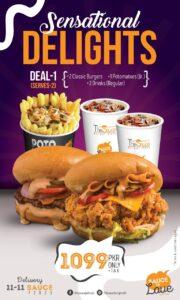 The Sauce Burger Cafe Karachi Menu 3