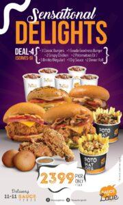 The Sauce Burger Cafe Karachi deals 2