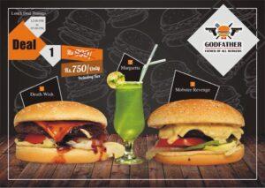 Godfather Burger Faisalabad Discounted Deals 4