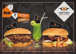 Godfather Burger Faisalabad Discounted Deals 5