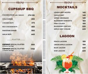 Cup Shup Menu Prices 3