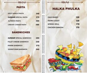 Cup Shup Menu Prices 8