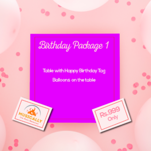 Birthday Packages 1