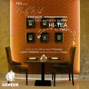 Café Geneva Faisalabad Hi Tea