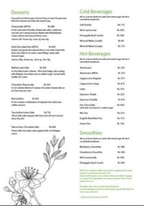 Pesto Restaurant Menu 5