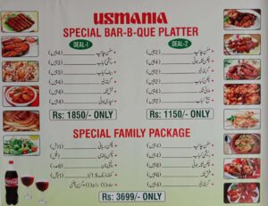 Usmania Restaurant Sahiwal Deals