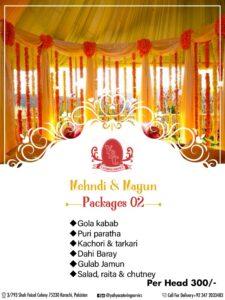 YBC Wedding Package 2