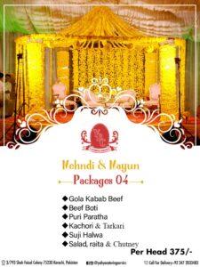 YBC Wedding Package 4