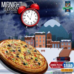 24 Wall Street Pizza Midnight Deal 1