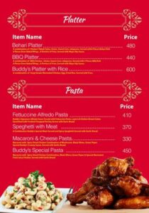 Buddys Kitchen Menu Prices 5