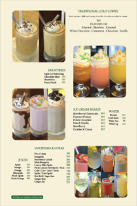 Coffee Tea Company Menu 4