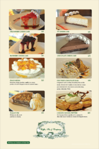 Coffee Tea Company Menu 6