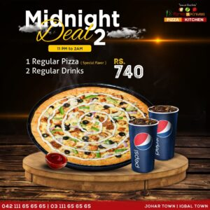 Fork n Knives Midnight Deal Lahore