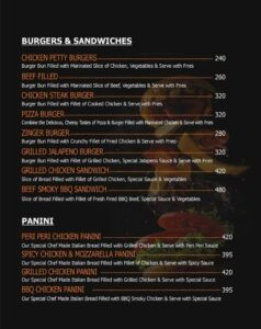 Oaklays Bistro Menu Prices 6