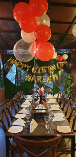 Barbeque Nation Birthday Celebration q