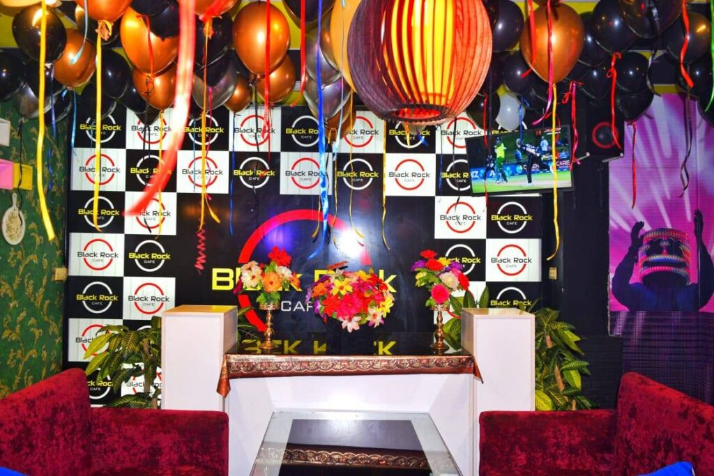 Black Rock Cafe Islamabad Birthday Decoration 1