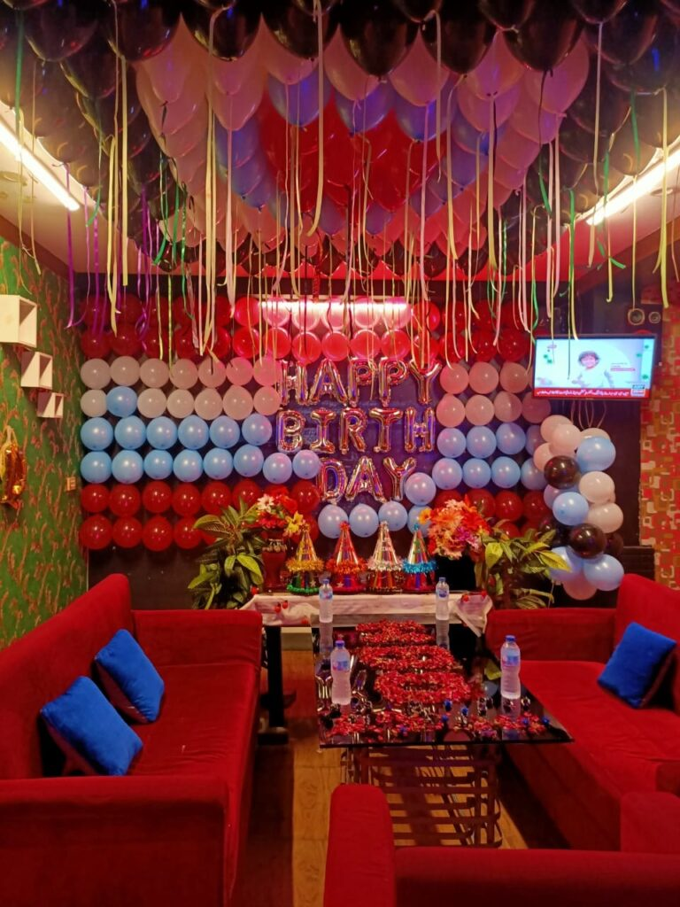 Black Rock Cafe Islamabad Birthday Decoration 2