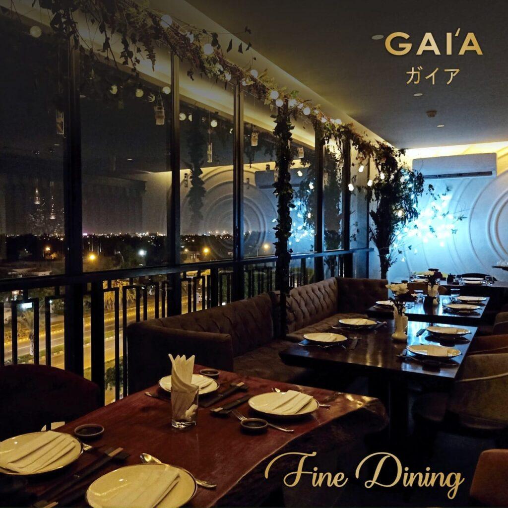 Gaia Restaurant Lahore Pictures