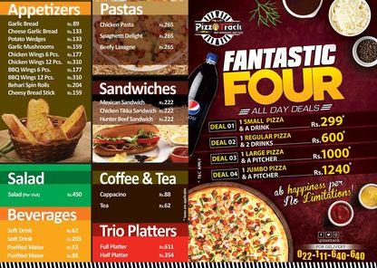 Pizza Track Hyderabad Menu Prices 2