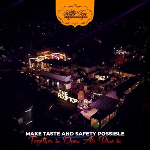 Rooftop Restaurant Hyderabad Pictures
