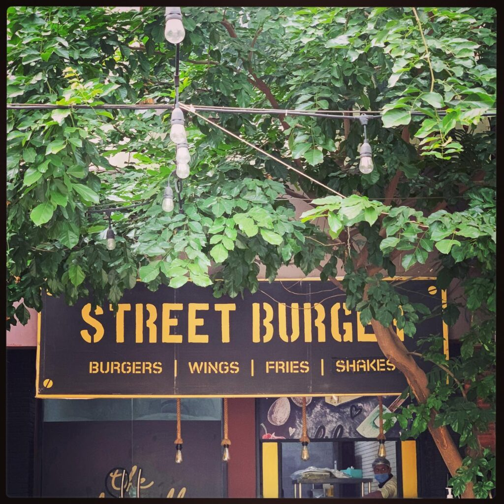 Street Burger Islamabad pics