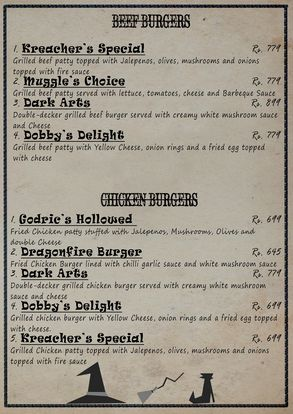 The Smokey Cauldron Menu Prices 3
