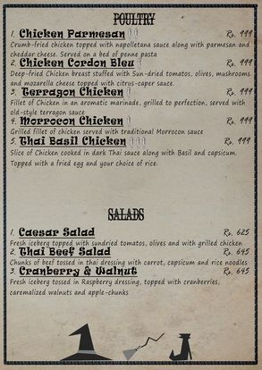 The Smokey Cauldron Menu Prices 4