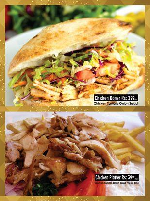 Turkish Doner Kebab Menu Prices 3