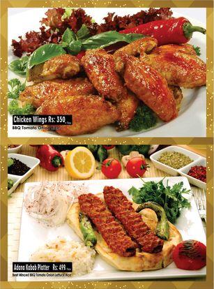 Turkish Doner Kebab Menu Prices 4