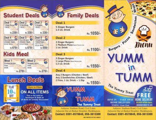 Yumm in Tumm Discounted Deals