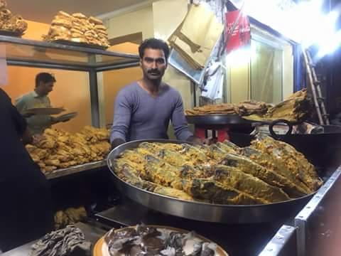 Wazirabad Fish Corner Sialkot Pictures